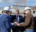 Алексей Дюмин проинспектировал строительство Ледового дворца в Туле