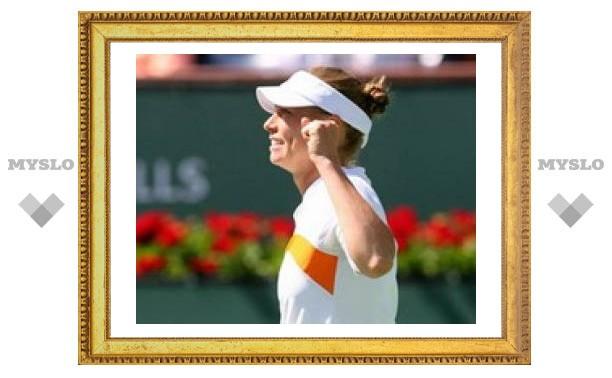 Вера Звонарева выиграла турнир в Индиан-Уэллсе