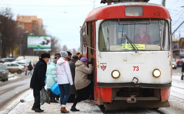Как в Туле будет ходить транспорт  с 1 января