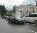 В центре Тулы водитель Nissan сбил человека
