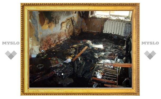 Пожар на улице Вознесенского начался с дивана