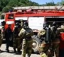Сотрудники МЧС потушили пожар в новомосковской пятиэтажке