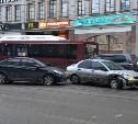 ДТП в центре Тулы парализовало движение трамваев