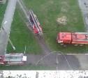 Рано утром на пожаре в Новомосковске погиб мужчина