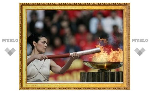 Туляки приняли участие в эстафете олимпийского огня