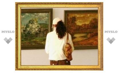 Тульские таможенники стали художниками