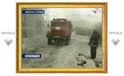 В результате пожара в латвийском интернате сгорели заживо 25 инвалидов