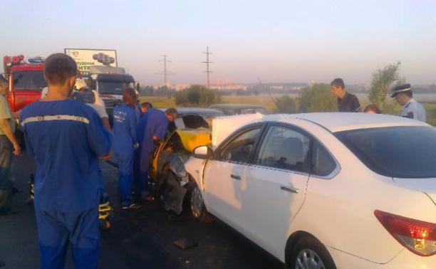 Пассажирка такси «Максим», попавшая в ДТП на Восточном обводе, скончалась в больнице