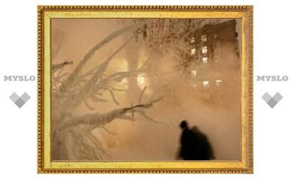 На Урале выпал желтый снег