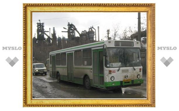С 17 февраля автобусы в Туле будут следовать по-новому маршруту