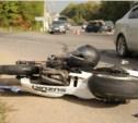 Возле богучаровского поста ДПС фура протаранила «семёрку» и мотоцикл