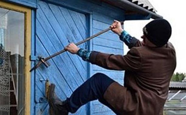 В Ленинском районе задержали дачного вора