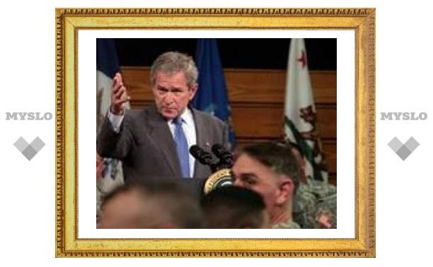 Буш признал войну в Ираке утомительной