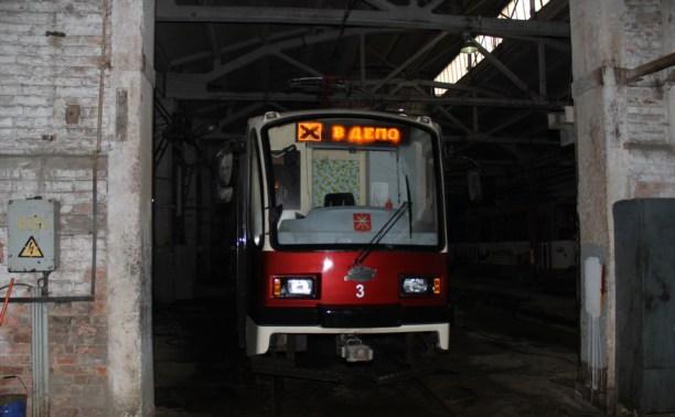 Ночью 14 и 15 августа будет закрыто движение трамваев всех маршрутов, кроме №3