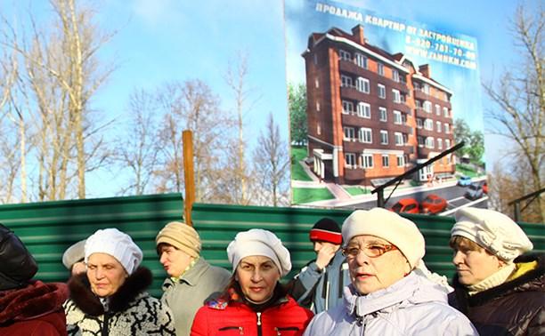 Жители Пролетарского района: Точечная застройка лишает нас детской площадки!