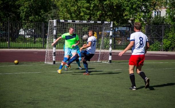 В Туле прошла спартакиада спасателей по мини-футболу