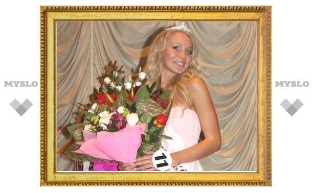 Тулячка Яна Суслова уехала на конкурс «Мисс Поволжье-2011»