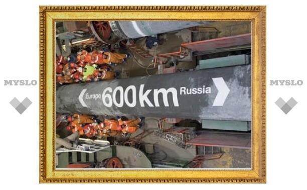 """""""Газпром"""" назвал дату начала эксплуатации """"Северного потока"""""""