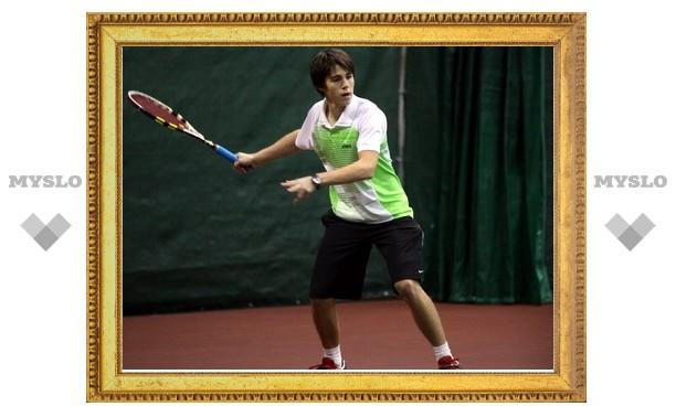 Тульский теннисист стал чемпионом