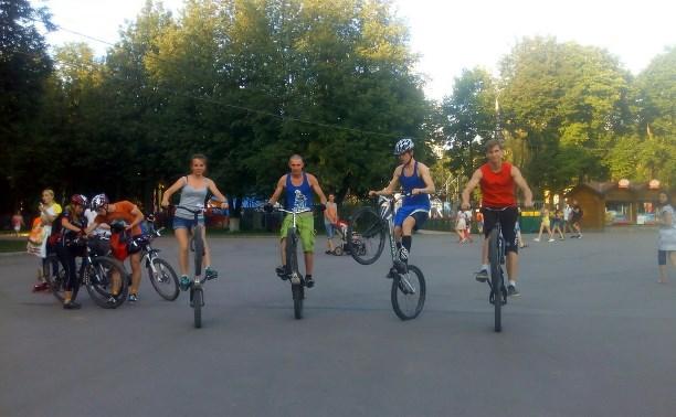 Каждую среду в Центральном парке будет проводиться День велосипеда