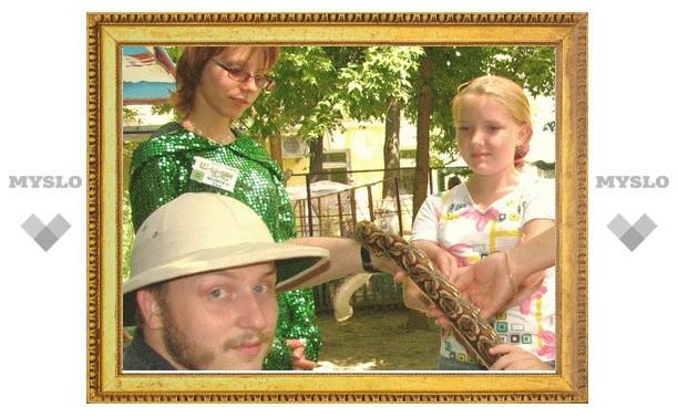В Туле нашествие змей