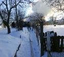 В Туле на пожаре в дачном доме пострадал пенсионер