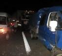 На трассе М-4 столкнулись два грузовика