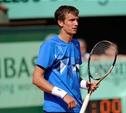 Тульский теннисист проиграл на старте турнира «Кубок Кремля»