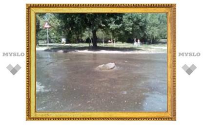 В Туле забил новый фонтан?