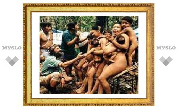 В джунглях Амазонки обнаружили неизвестное племя