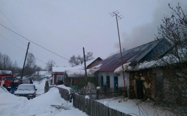 В Киреевске при пожаре погиб мужчина