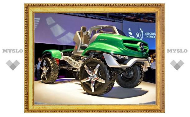 Mercedes-Benz отпраздновал 60-летие Unimog