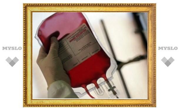 Судебные приставы поделились кровью