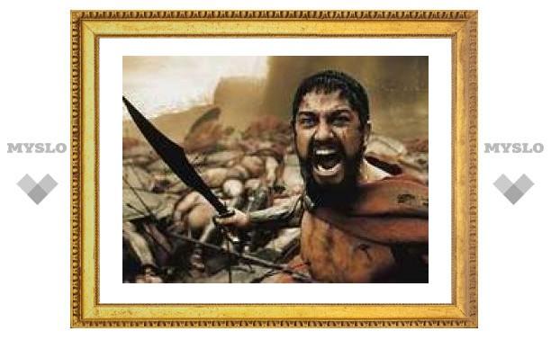 """""""300 спартанцев"""" заработали 70 миллионов за выходные"""