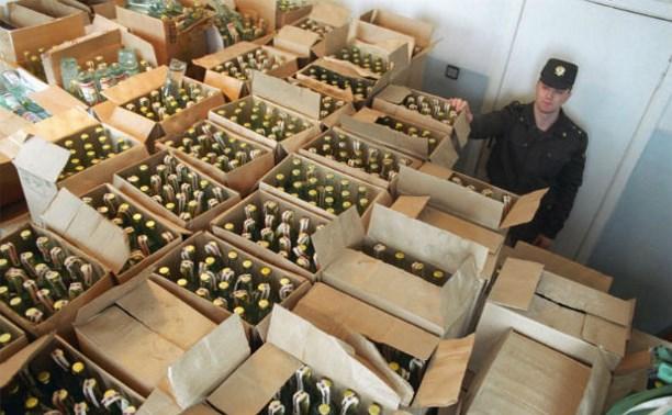 С начала года в Тульской области изъяли свыше 1500 литров алкоголя
