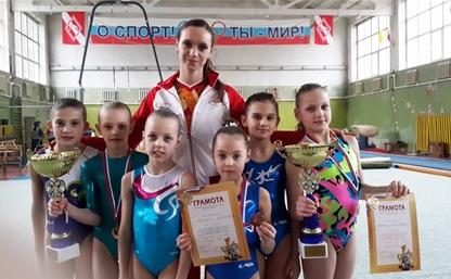 Тульские гимнастки привезли медали из Орла