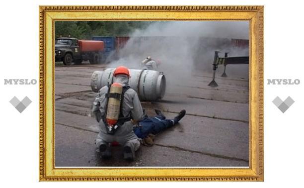 В Пензе произошла утечка газа из сданной в утиль цистерны