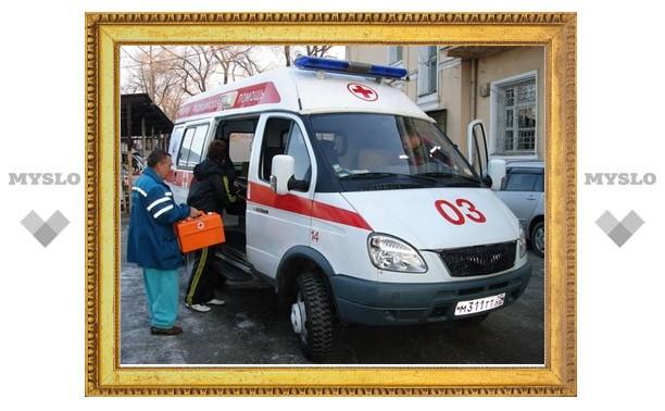 "В Туле столкнулись две ""ГАЗели"" и ""Лада"""