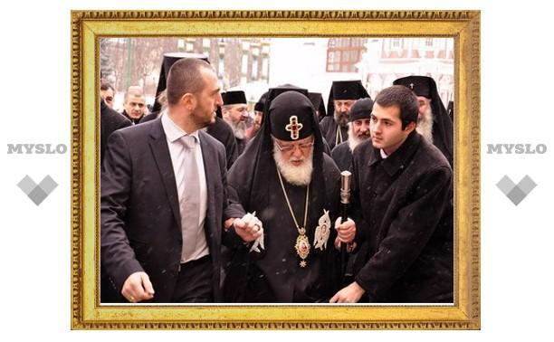 Предстоятель Грузинской Православной Церкви посетил Троице-Сергиеву лавру