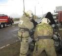 В Богородицком районе столкнулись «Ниссан Тиида» и грузовик «МАН»