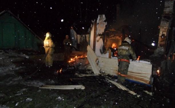 В деревне Кожино на пожаре погиб мужчина