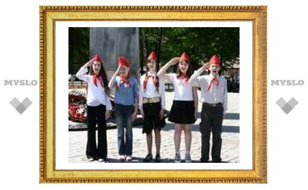 Тульских пионеров пригласили на Красную площадь