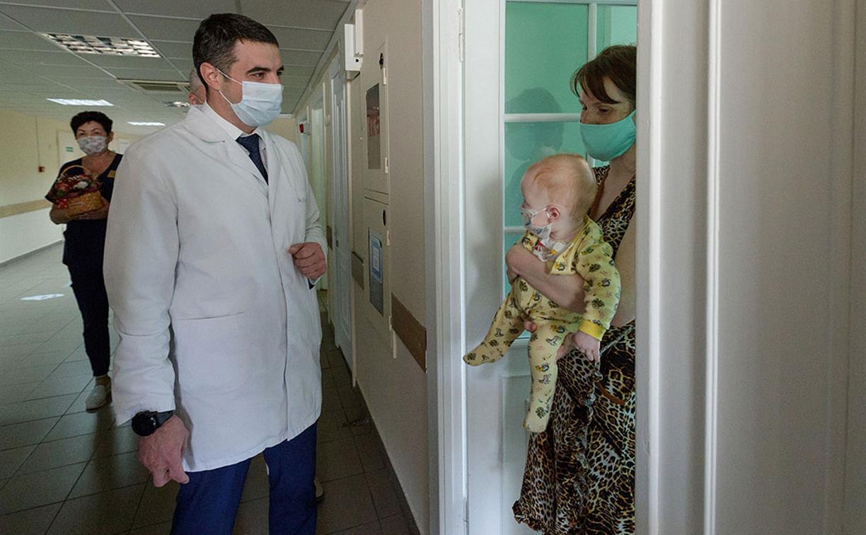 В Тульской детской облбольнице открылось кардиоревматологическое отделение