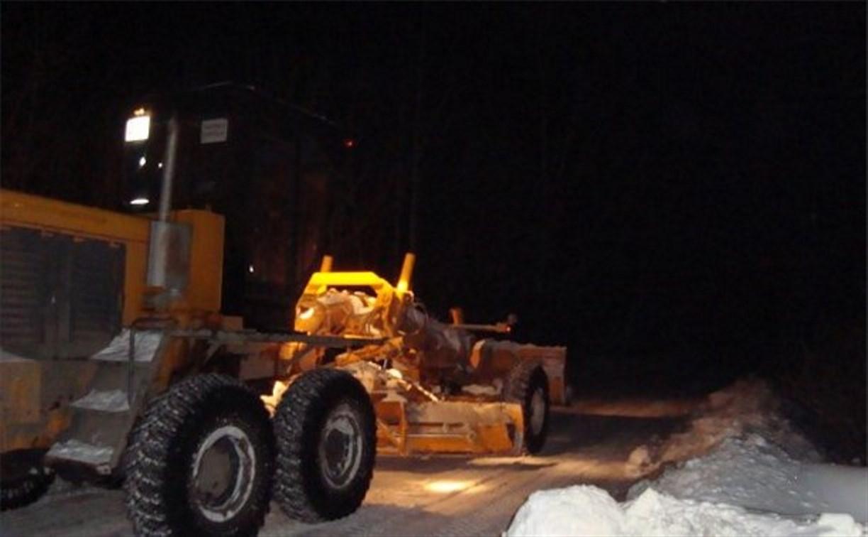 Ночью на улицах Тулы работали 89 снегоуборочных машин