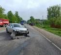 В аварии в Заокском районе пострадал один человек