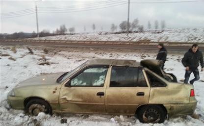 В аварии на трассе «Крым» пострадал годовалый малыш