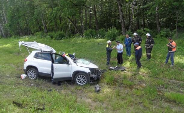 В ДТП на трассе М-2 под Тулой погиб человек