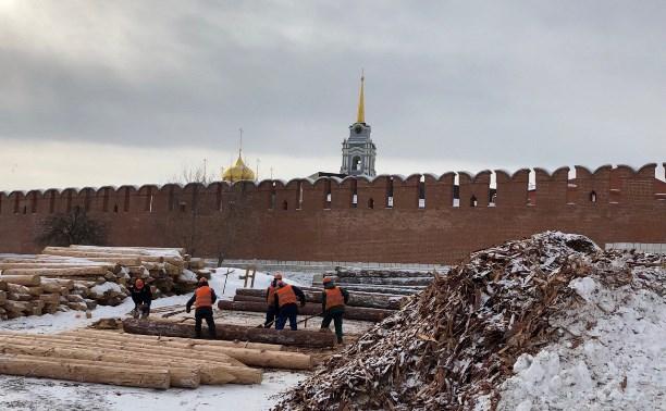 В Туле с набережной Упы вывезли 30000 кубометров мусора