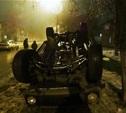 В Щекино «Нива» врезалась в ВАЗ и перевернулась