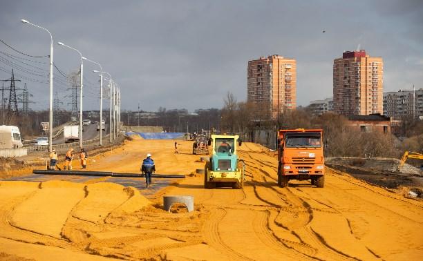 Министр транспорта РФ проверил, как идет строительство Восточного обвода в Туле